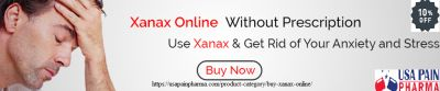 Before buying Xanax online, you should realize that Xanax can be perilous for you. The excess or abuse of this medication will cause serious incidental effects. Any additional portion of this medication can cause passing. You ought to follow the medicines given by the specialist prior to purchasing Xanax. Xanax can likewise cause a coronary failure in the event that you previously had any clinical history. It is better prior to getting you to counsel the specialist and survey the medication. This medication has caused incidental effects that require clinical treatment.   Order here:>>>> https://usapainpharma.com/product-category/buy-xanax-online/