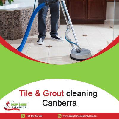 Top Tile & Grout Cleaning Service In Canberra.  Deep Shine Cleaning is a fast growing cleaning business with 9 years of experience in professional cleaning. We specialize in carpet steam cleaning and tile and grout cleaning. We use advanced technological machines and tools that will restore and maintain the look and feel of your carpets and tiles. For more details: Contact Us: +61 466 713 111 / +61 426 255 666 Email Us: deepshine.cleaning@yahoo.com Address: Jabanungga Ave, Ngunnawal ACT 2913, Australia Facebook: https://www.facebook.com/deepshinecleaningservices/ Website:https://deepshinecleaning.com.au/ For more details: Contact Us: +61 466 713 111 / +61 426 255 666 Email Us: deepshine.cleaning@yahoo.com Address: Jabanungga Ave, Ngunnawal ACT 2913, Australia Facebook: https://www.facebook.com/deepshinecleaningservices/ Website:https://deepshinecleaning.com.au/